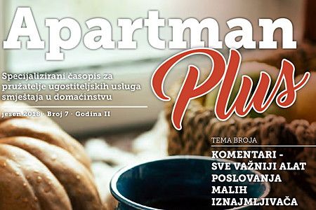APARTMAN PLUS #7 - novo jesensko izdanje časopisa