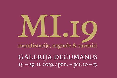 Izložba MI.19 - manifestacije + nagrade + suveniri