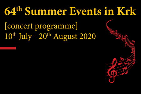 64th Summer Events in Krk (concert programme)