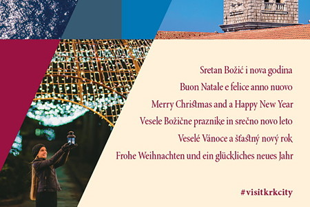 The Tourist Board of the City of Krk wishes you a Merry Christmas and a Happy New Year!