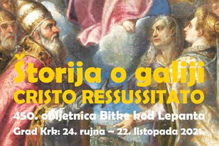 Štorija o galiji Cristo Ressussitato: Proslava okrugle, 450. obljetnice Bitke kod Lepanta