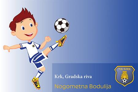 Nogometna Bodulija: Voliš nogomet? Postani član Nogometnog kluba Krk