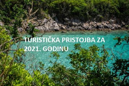 Turistička pristojba za 2021. godinu - obračun paušala