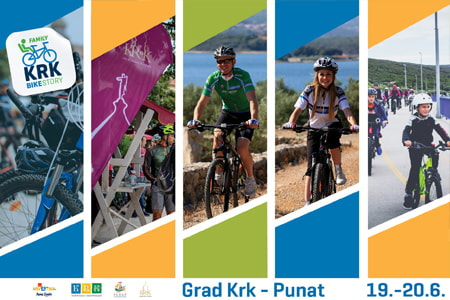 Krk Bike Family Story - an interactive event on two wheels for the whole family