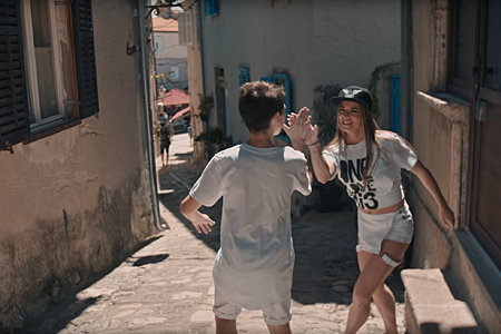 RiS dance centar Ivone Brnelić začarao je grad Krk plesom