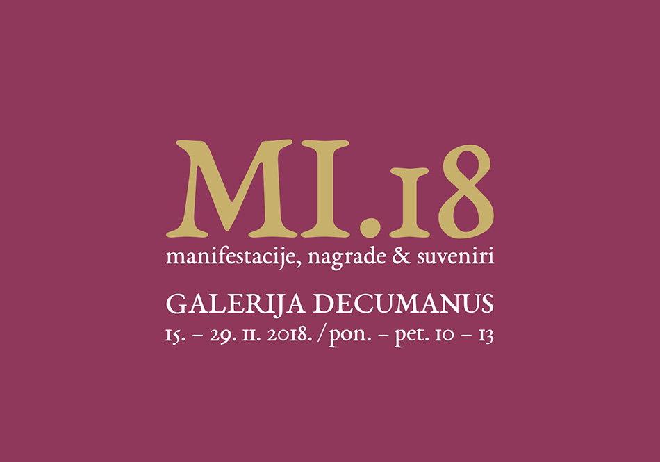 Izložba MI.18 - manifestacije + nagrade + suveniri